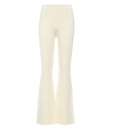 Ribbed-Knit Flared Pants | Joseph - Mytheresa