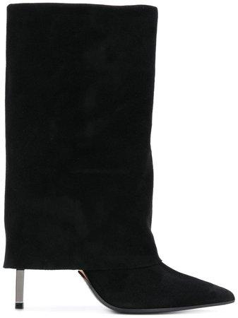 Balmain Babette Boots W8FC315PCAMBABETTE Black | Farfetch