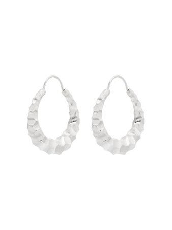 All Blues Fat Snake carved sterling silver earrings - Farfetch