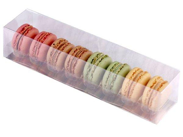 8 Macaron Box - Clear - MeilleurduChef.com