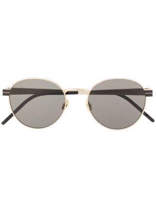 Saint Laurent Eyewear Monogramme SL Sunglasses - Farfetch