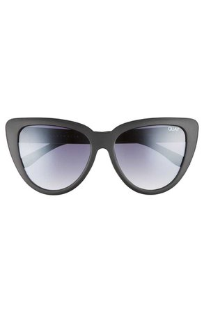 Quay Australia Stray Cat 58mm Mirrored Cat Eye Sunglasses | Nordstrom