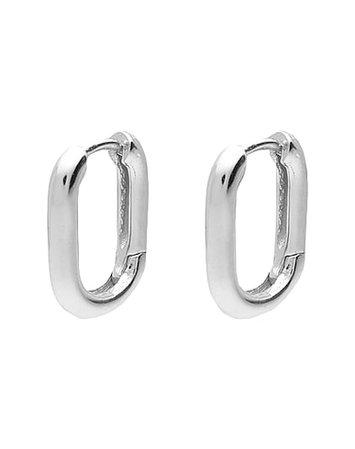 Luv Aj Chain Link Huggies - Earrings - Women Luv Aj Earrings online on YOOX United States - 50240632PW