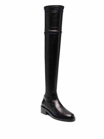 Valentino Garavani Rockstud thigh-high boots - FARFETCH