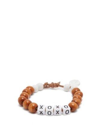 Lauren Rubinski XOXO Beaded Bracelet