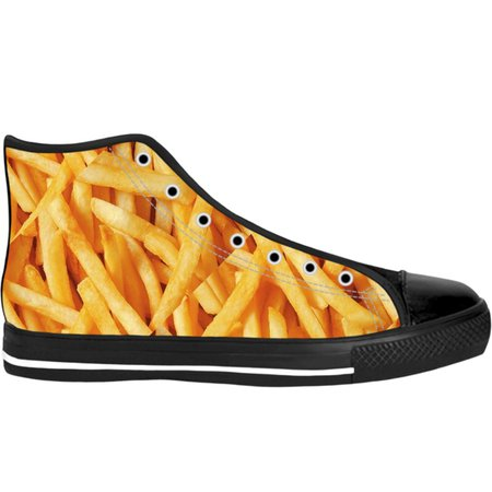 French Fries High Tops (Black Soles)