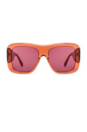my my my Freddy Sunglasses in Rose   REVOLVE