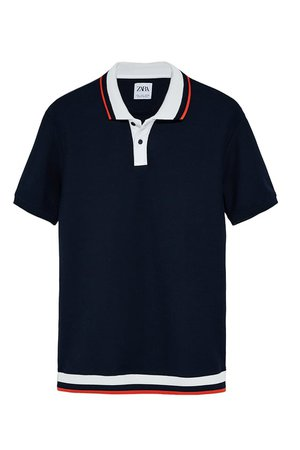 COMBINATION TEXTURED POLO | ZARA United States