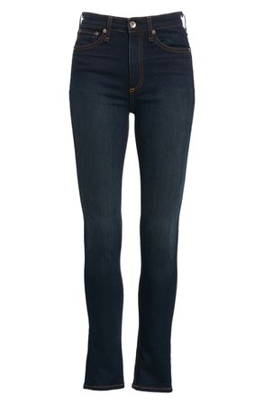 rag & bone Nina High Waist Skinny Jeans (Bedford)   Nordstrom