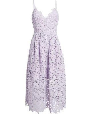 Don't Miss Deals on Women's Astr The Label Lace Midi Dress, Size Small - Purple
