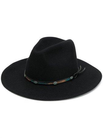 Jessie Western bead trim hat £196 - Shop Online - Fast Delivery, Free Returns