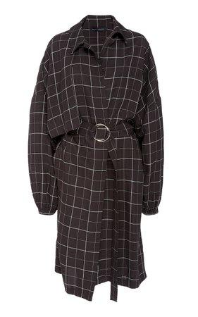 large_sally-lapointe-black-white-oversized-plaid-gabardine-trench-coat.jpg (1598×2560)