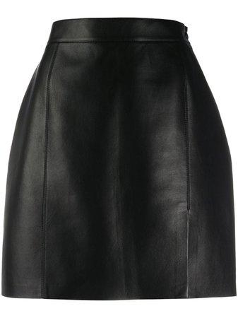 Nanushka Gima Vegan Leather Mini Skirt - Farfetch
