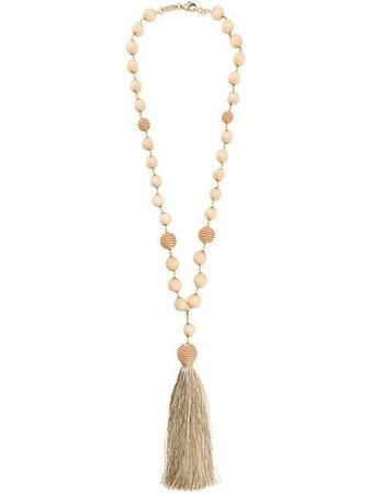 Rosantica Braided Bead Necklace - Farfetch