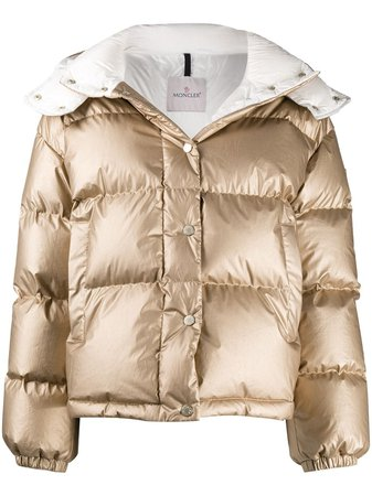 Moncler Hooded Puffer Jacket - Farfetch