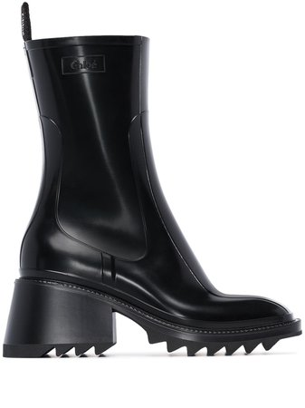 Chloé Betty Rain Boots - Farfetch