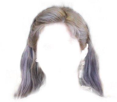 silver/grey fancy hair - cloud9
