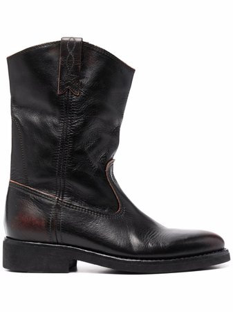 Golden Goose slouch leather boots - FARFETCH