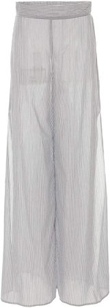 White Story Nanna Cotton Wide-Leg Pants