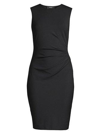 Theory Jorainna Sheath Dress on SALE | Saks OFF 5TH