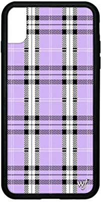 Amazon.com: Wildflower Limited Edition Cases for iPhone Xs Max (Lavender Plaid): Majdell Group