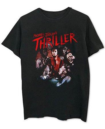 Merch Traffic Michael Jackson Thriller Men's Graphic T-Shirt & Reviews - T-Shirts - Men - Macy's