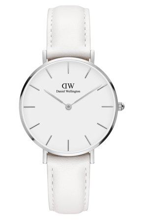 Daniel Wellington Classic Petite Leather Strap Watch, 32mm | Nordstrom