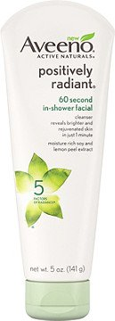 Aveeno Positively Radiant 60 Second In-Shower Facial | Ulta Beauty
