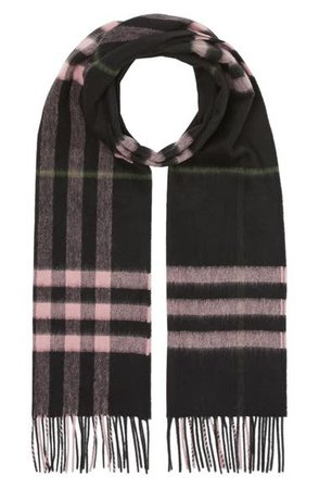 Burberry Giant Icon Check Cashmere Scarf | Nordstrom