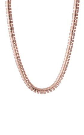 Ophelia 18k Rose Gold Necklace By Sidney Garber | Moda Operandi