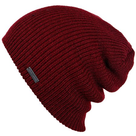 Mens Slouchy Beanie - The Forte - Red Beanie Hat - King and Fifth Supply Co.