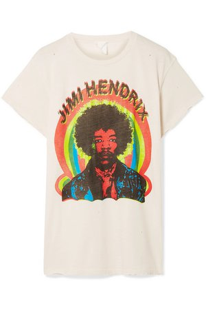 MadeWorn | Hendrix printed cotton-jersey T-shirt | NET-A-PORTER.COM