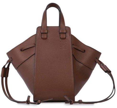 logo embossed shoulder bag