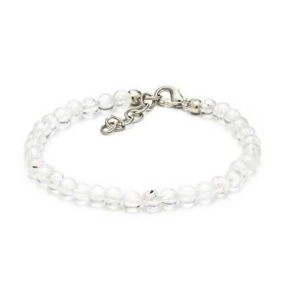 Crystal Clear Quartz Bracelet | Mystic Self LLC
