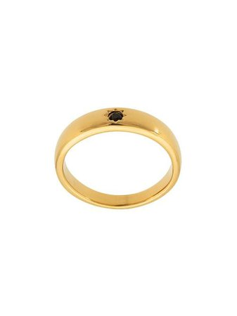 Shop gold Nialaya Jewelry Skyfall Band ring with Express Delivery - Farfetch