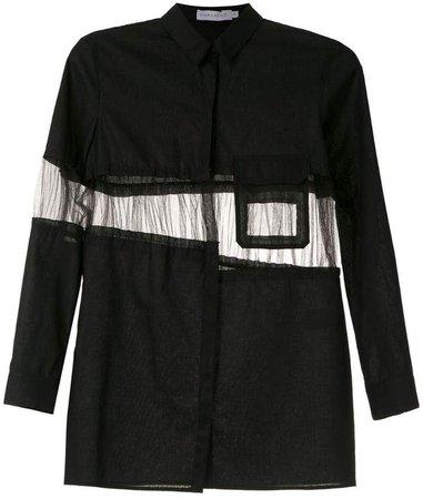 Mara Mac panelled shirt