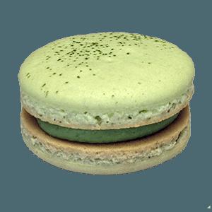Green Tea Macaron transparent PNG - StickPNG