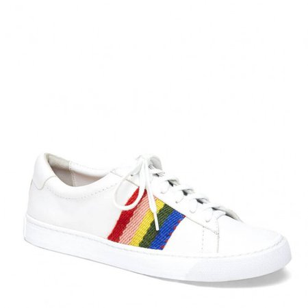 Loeffler Randall | Logan Sneaker in White nappa leather | Shoes | Sneakers