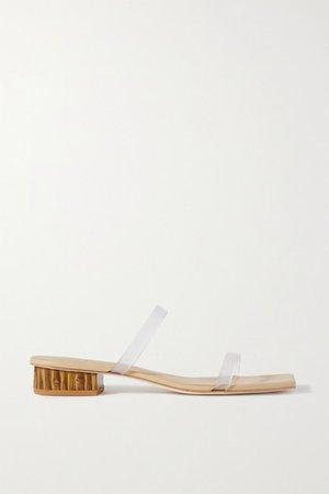 Liz Pvc Sandals - Clear