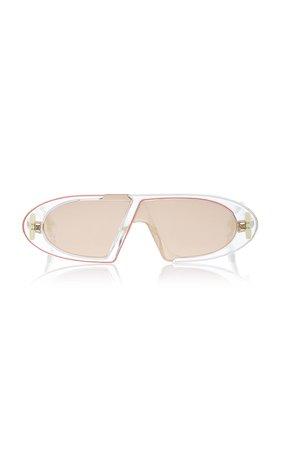 Dior Oblique Round-Frame Acetate Sunglasses