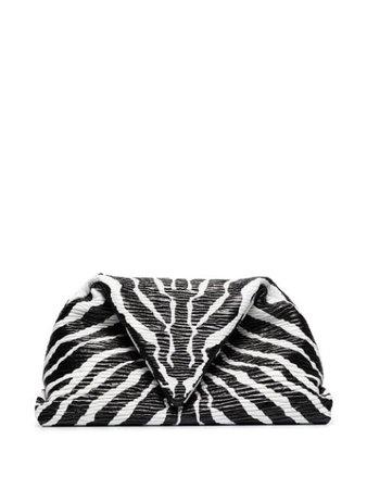 Bottega Veneta Zebra Print Envelope Clutch - Farfetch