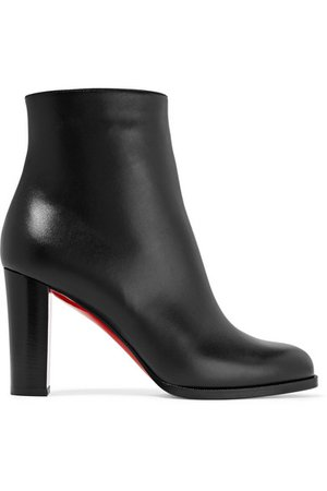 Christian Louboutin | Adox 85 leather ankle boots | NET-A-PORTER.COM