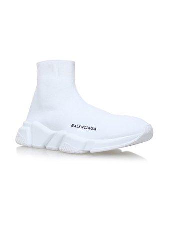 White Balenciaga shoes