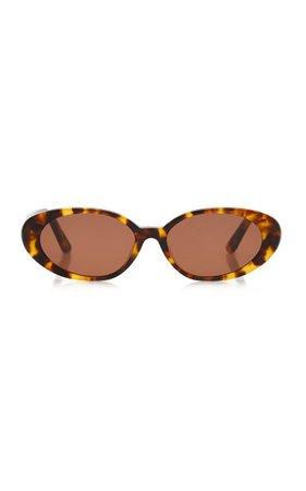 Tne Poet Round-Frame Acetate Sunglasses By Velvet Canyon | Moda Operandi
