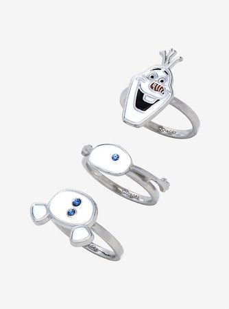 Her Universe Disney Frozen 2 Olaf Stackable Ring Set