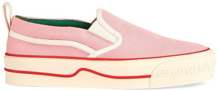 Slip-On Canvas Sneakers