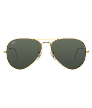 Ray Ban Sunglasses Bottle Green Aviator Sunglasses