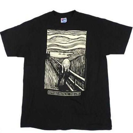 Vintage Edward Munch The Cry (The Scream) T-Shirt