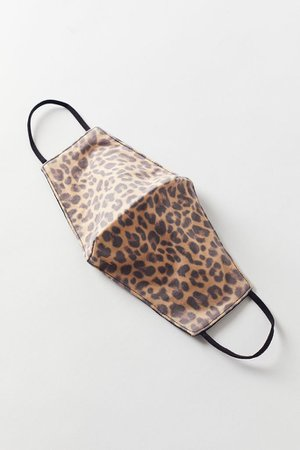 Animal Print Reusable Face Mask | Urban Outfitters