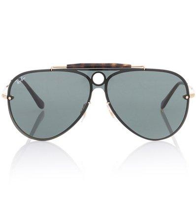 Blaze Runner aviator sunglasses